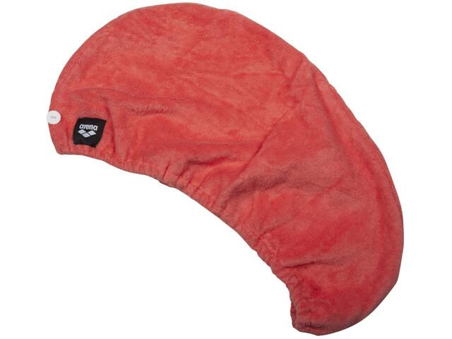 arena Turban pour le séchage des cheveux, pale rose